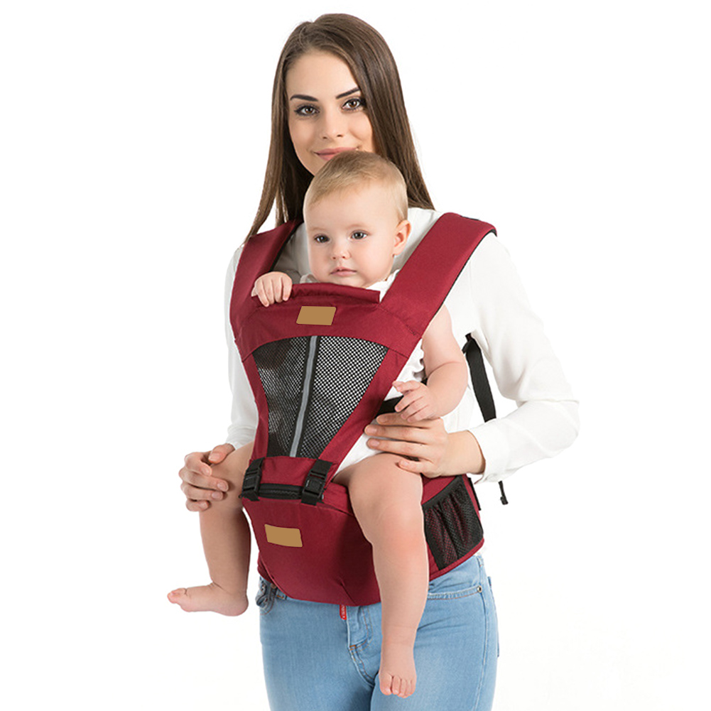 New Baby Carrier Strap Infant Cotton Shoulder Strap  Child Strap Adjustable Wrap Sling Cotton Mesh  Backpack Baby Accessories O3