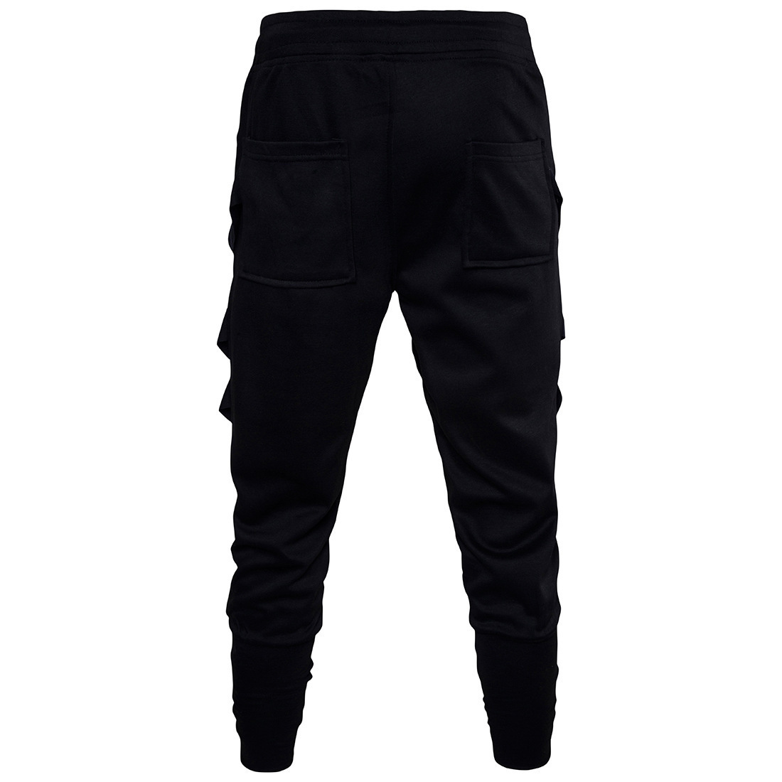 2017 New Style Trend Men Cool Nightclub Performance Harem Pants Low-crotch Flare Cut Casual Gymnastic Pants