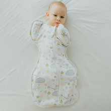 Soft Baby Swaddle Muslin Blanket Cute Animal Printed Newborn Infant Baby Sleeping Bags Zipper Wrap Swaddling Blanket