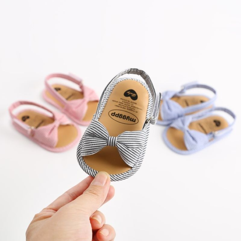 2020 NEW Summer Crib Shoes Newborn Infant Baby Girl Boy Soft Prewalker Sandals Summer Baby Girls Shoes 0-18M