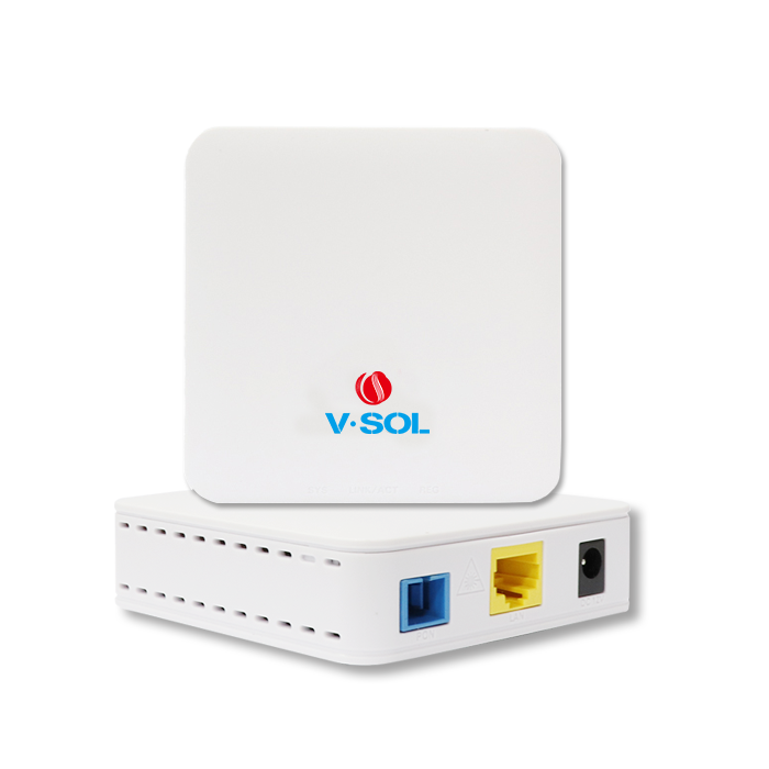 Free Shipping V- Sol  V2801SE  1GE Gpon ONU  1*10/100/1000M Single Port Fiber Optical Network