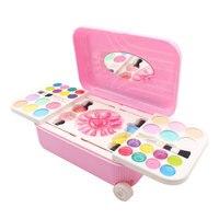 Маленькая девочка Макияж toyChildren на водной основе косметический набор может очистить лак для ногтей макияж принцесса играть дом игрушка.