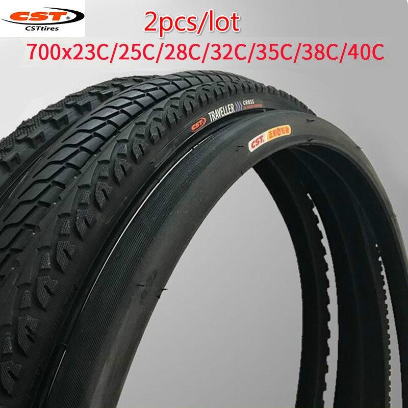 Cst 2 шт. оригинальные 700x2 3C/25C/28C/32C/35C/38C/40C дорожные шины для горного велосипеда, велосипедные шины 700x35C, велосипедные шины mtb для езды на велосип...