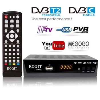 HD DVB-C DVB-T2 Ricevitore Satellitare Wifi Free Digital TV Box DVB T2 DVBT2 Sintonizzatore DVB C IPTV M3u Youtube Russo manuale di Set Top Box