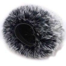 ABKT-микрофон пушистый ветровое стекло-микрофон ветровой крышки меховой фильтр как пенопластовая Крышка для Blue Yeti, Blue Yeti Pro Usb конденсаторный микрофон