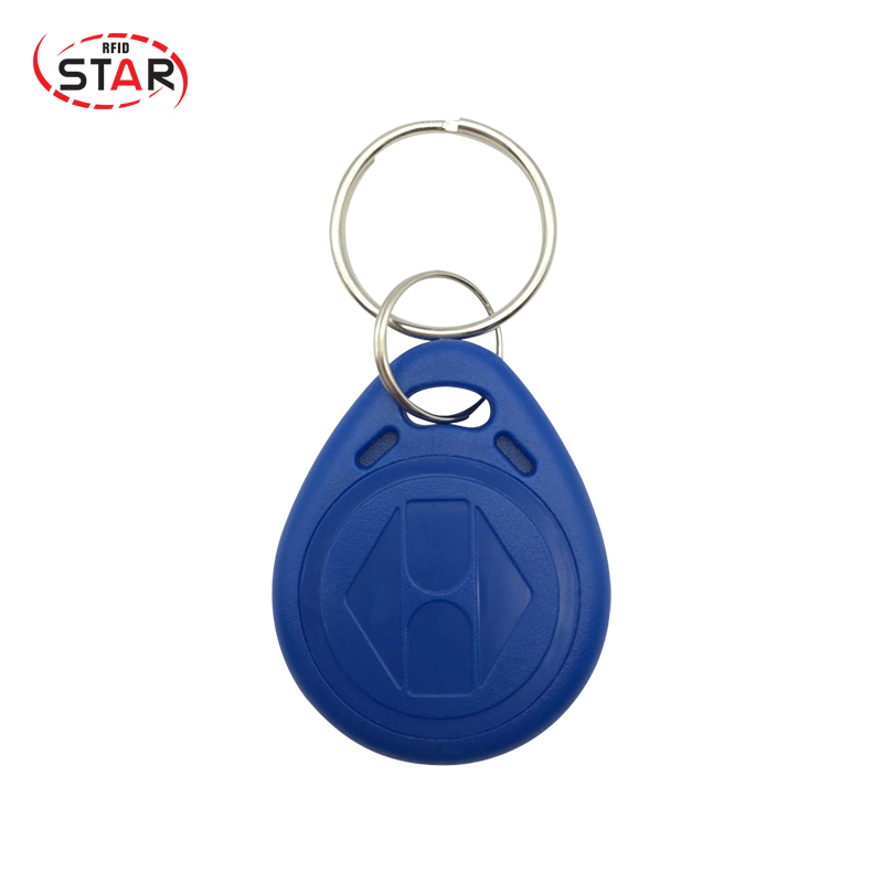 100Pcs RFID Key Fobs 125KHz Proximity Key Tags For Access Control Keychain Keyfobs T5577chip