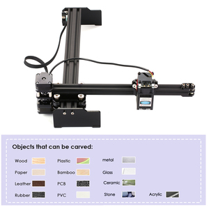 Image 2 - Laser Gravur Maschine High Speed Mini Desktop Laser Engraver Drucker Tragbare Haushalt Kunst Handwerk DIY Laser Gravur Cutter