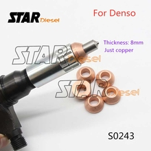 Auto-Injector-Spare-Parts Shims Star Diesel Denso Copper for S0243 5pcs 8mm Washer Conical