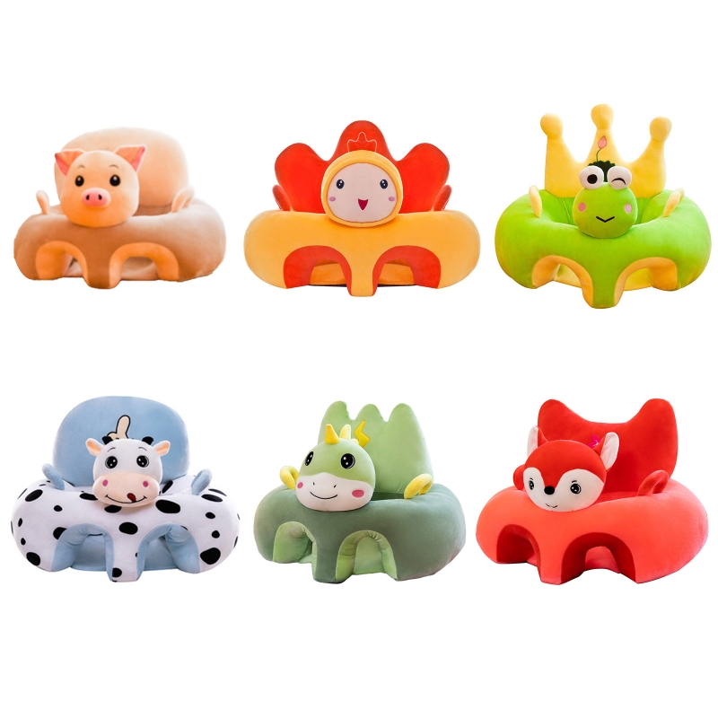 Cute Cartoon Sofa Skin Baby Seat Sofa Cover for Baby Sofa Support Seat Children's Sofa Infant Learn to Sit Chair