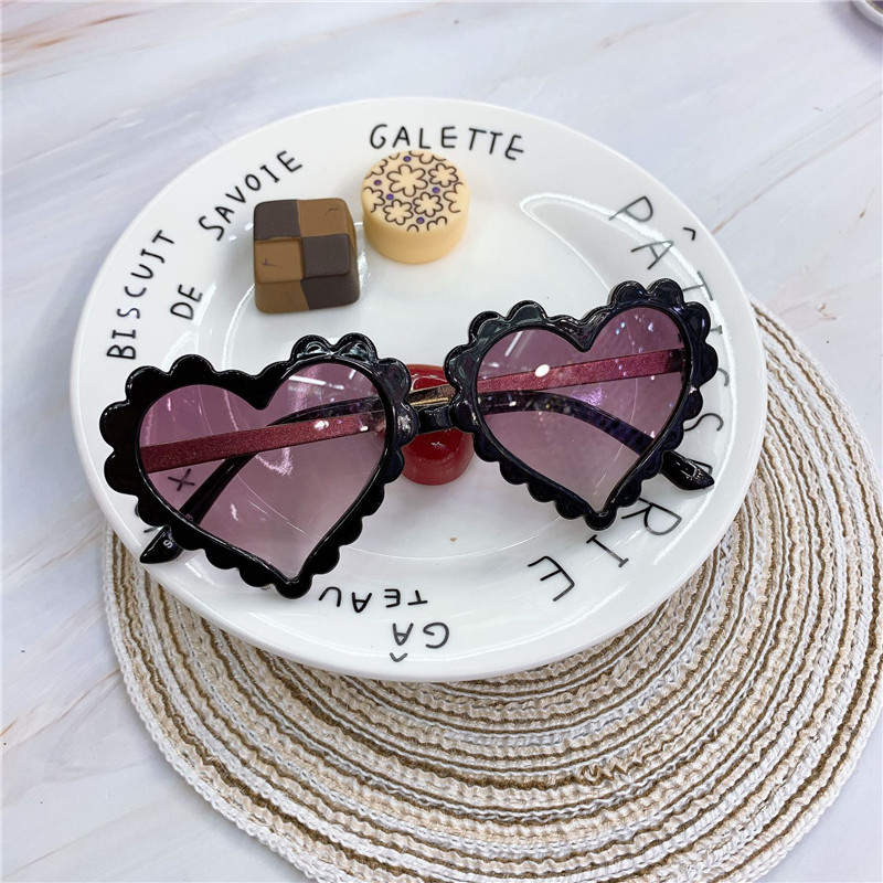 H0e0d2e7c30374ad3ad36a9307671337ev - Baby Heart Kids Sunglasses Fashion New Love Plastic Pink Sun Glasses Girls Boys UV400 Sunglasses Okulry Oculos
