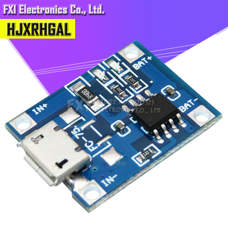 5PCS TP4056 1A Lipo Battery Charging Board Charger Module Lithium Battery DIY Port Mike USB Hot Sale