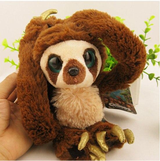 [ Funny ] 65cm 100cm Belt Sloths Long Arm Monkey Plush Doll The Croods Factory Direct Sale Toys Soft Big Eyes Monkey Baby Gift