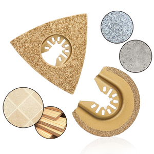 Image 3 - Бесплатная доставка, алмазные и карбидные Осциллирующие многофункциональные пильные диски для шлифовального станка, режущий Реноватор, электроинструменты, аксессуары, безопасность