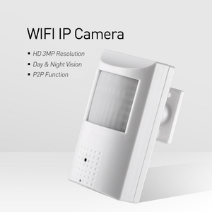 Image 2 - H.265 WIFI 3MP / 1080P IP Camera 940nm Invisible Night Vision Mini Indoor P2P Security Cam System with SD Card Slot (128G Max)
