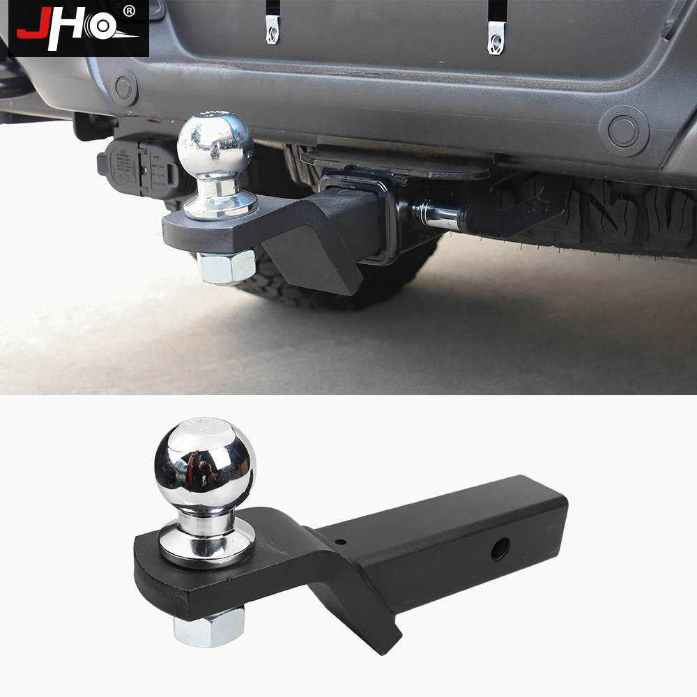 JHO Tow Hauling Trailer Hitch Ball Hitch Pin Lock Mounting Kit For Ford F150 2016-2020 Raptor Limited Platinum Truck Accessories