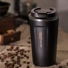 380/500 Ml Thermos Mok Rvs 304 Thermo Cup Reizen Koffie Mok Thermosflessen Thermo Mok Voor auto Water Flessen