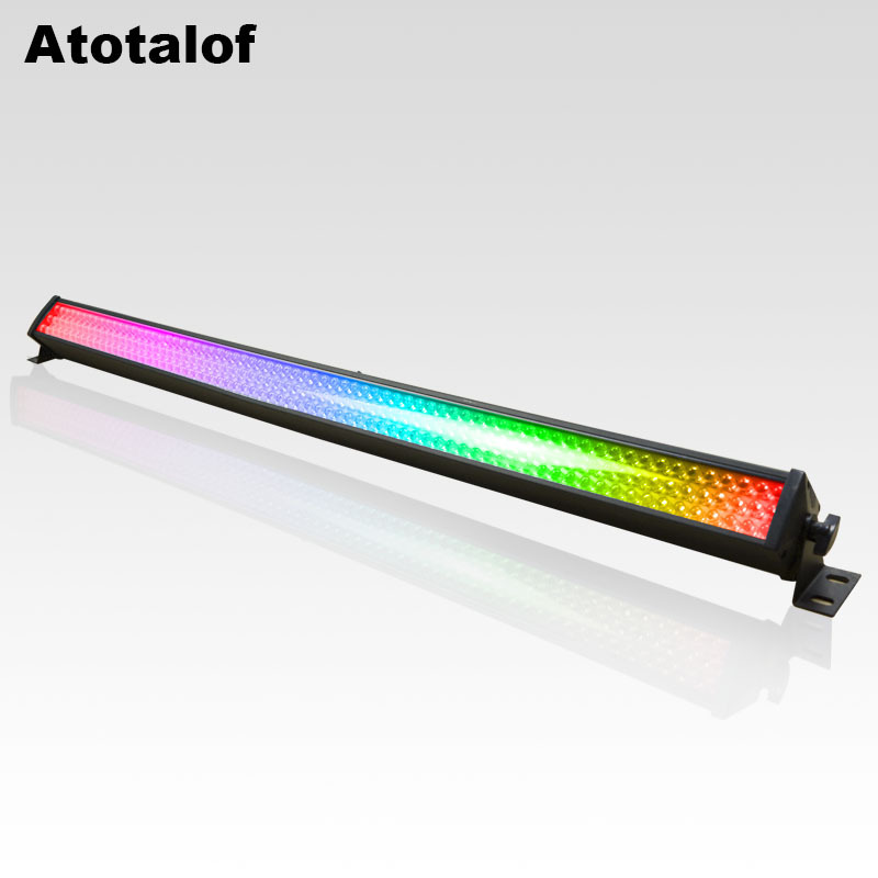 A Sangha Only 216 LED Linear Wall Washer Light Bar KTV8 Segment Decoration Horse Race Lamp Disco Dancing Dyeing Stage Light