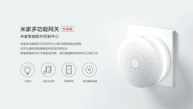 Xiaomi Mijia-Sensor de puerta y ventana para el hogar, Kit de seguridad inteligente 5 en 1, inalámbrico, interruptor Zigbee 6
