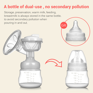 Image 4 - Electric Breast Pump Charged Easy Convenient Charged Easy Carry Outdoors Milk Pump Postpartum Supplies