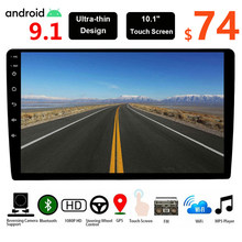 2G Ram! 9/10.1 Inch 2 Din Android 9.1 Car Multimedia 2Din Autoradio Gps Centrale Fm Voor Volkswagen Nissan Hyundai Kia Toyota(China)