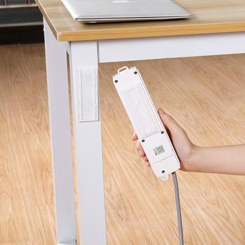 1 PC kreatywny gniazdo zasilania uchwyt biurowy gospodarstwa domowego gniazdo przechowywania tkanki stojak ścienny odpinany uchwyt do montażu routera tanie i dobre opinie Uniwersalny Arrangement and insertion fixator