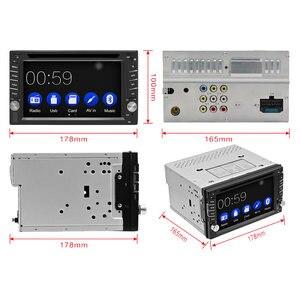 Image 5 - 2DIN سيارة مشغل ديفيدي راديو لتحديد المواقع بلوتوث Carplay أندرويد السيارات ل X TRAIL قاشقاي x درب juke لنيسان SWC FM AM USB/SD