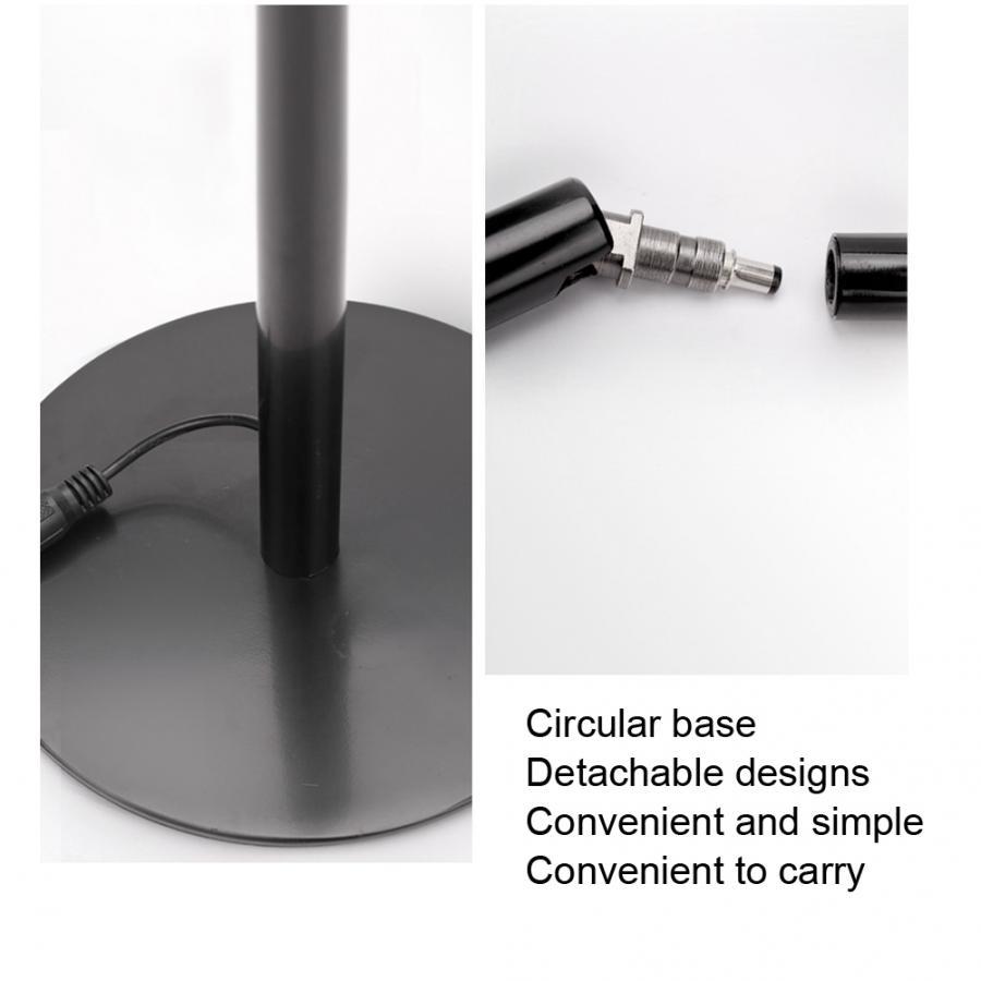 tatuagem cosméticos brilho ajustável ferramentas de unhas preto