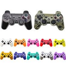 Controlador bluetooth para ps3 gamepad pc playstation 3 console sem fio joystick para sony playstation 3 controlador de interruptor