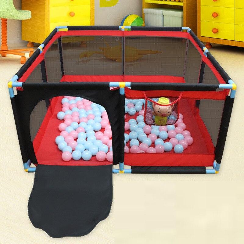 Детский манеж, домашний игровой забор для детей, безопасный коврик для ползания, забор с игрушками