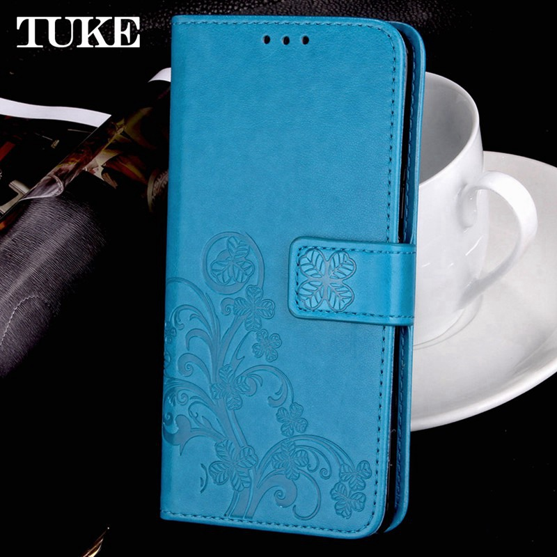 For UIMI S3 Pro X Case TPU Embossed Flower Leather CASE Fashion Cover Free Strap