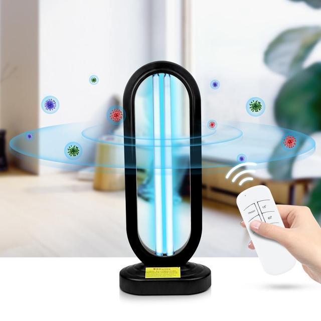 15W 25W 50W Led Uv Lamp Kiemdodende Desinfectie Lamp Uvc Ultraviolet Sterilisator Schone Lucht Deodor Doden bacteriële 110V/220V