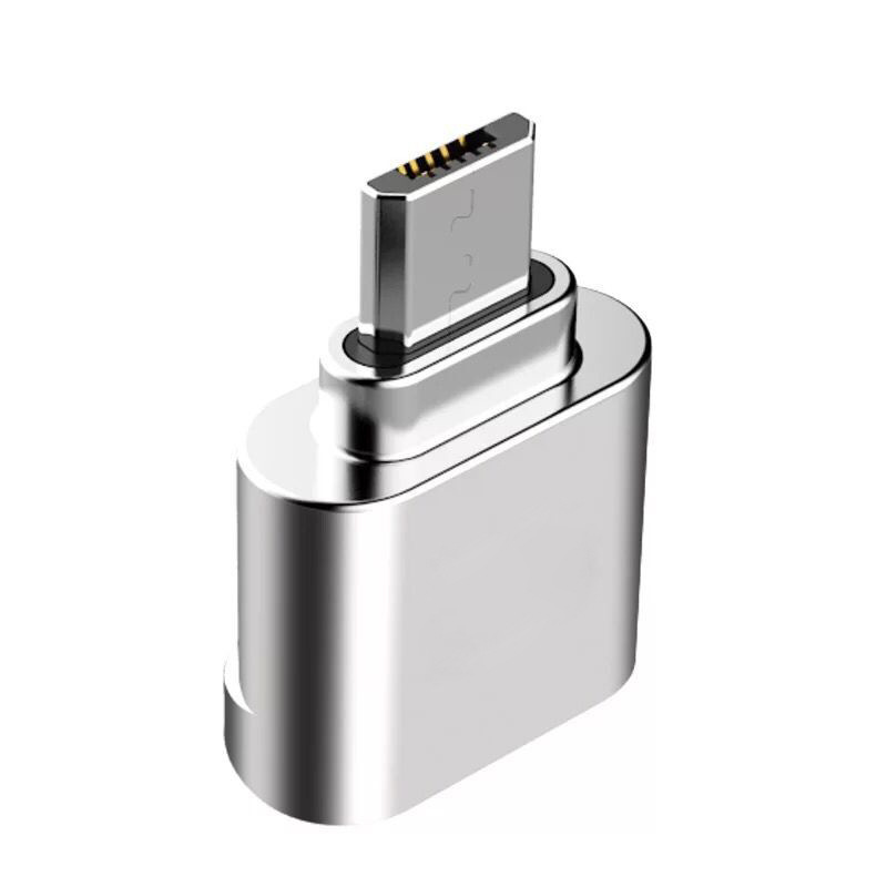 New Mini Zinc Alloy Micro USB OTG TF SD Card Reader Suitable For Android Mobile Cell Phone Adapter Converter Connector