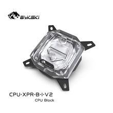 Bykski CPU-XPR-B-I-V2 CPU Bloc D'eau 5V 3PIN pour INTEL LGA1150 1151 1155 1156 2011 X99 support Transparent GND De Refroidissement Par Eau