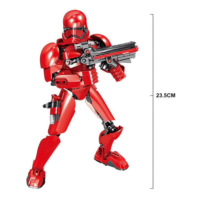 Blocks Star Wars Buildable Action Figure 9