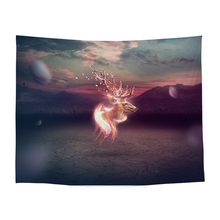 100% Polyester Printed Plain Dyed Galaxy Tapestry Wall Hanging Hippie Decor Psychedelic Boho Home Horse Rugs plain dyed sand washed 100