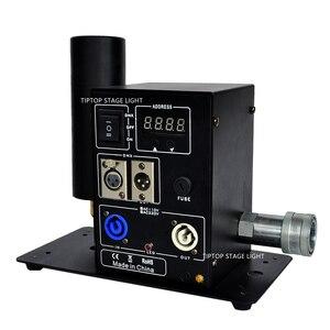 Image 3 - Tiptop Stage Licht Nieuwe Digitale 200W Enkele Pijp Co2 Jet Machine Power Dmx In/Out Afsluitbare Luchtvaart Power plug Lcd scherm