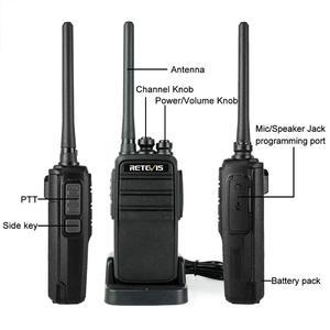 Image 5 - Retevis rt53 dmr digital walkie talkie uhf dmo vox analógico digital em dois sentidos rádio comunicador transceptor handsfree walkie talkie