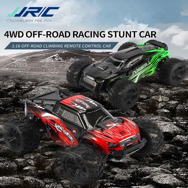 JJRC-coche todoterreno Q122 A B 116 2,4G 4WD, vehículo de escalada A Control remoto, impermeable, coches acrobáticos, juguetes, azul/verde/rojo