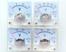91l4 ac 0-150 v 250 v 300 v 450 v painel analógico medidor de tensão voltímetro 91l4 ac 0-150 v