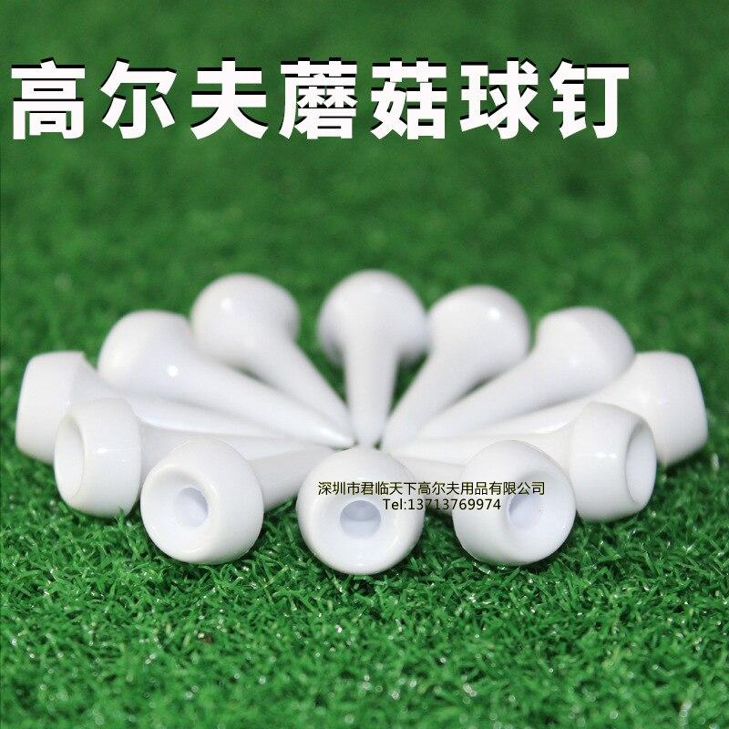 New Style Golf Tee Plastic Nail Mushroom Ball Studs Golf Tee Limiting Device Ball Studs Ball Support In Bulk 35 Mm