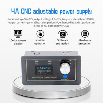 0.5-30V 4A Power Module CNC DC DC Buck Boost Converter CC CV Adjustable Regulated power supply For Solar Battery Charging sk80 dc dc buck boost converter cc cv 0 6 36v 5a power module adjustable regulated laboratory power supply variable 5v 12v 24v