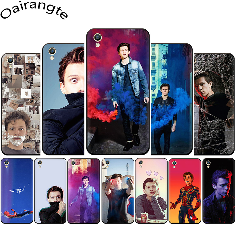 Tom Holland Silicone phone <font><b>case</b></font> for <font><b>OPPO</b></font> R17 R15 F11 F9 <font><b>Pro</b></font> R11s A77 <font><b>R11</b></font> R9s F9 F7 A73 A83 A59 A39 A5 image