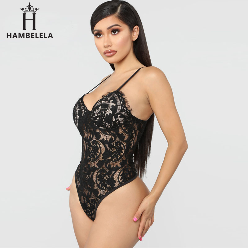 HAMBELELA Skinny Party Club Bodysuit Top Floral Lace Bodysuits Women Erotic Bodycon Overalls Hollow Out Sexy Slim Bodysuits (10)