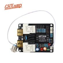 Interruptor amplificador ghxamp 2000w, placa de iniciar luz macia, controle duplo de temperatura 220v