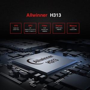 Image 2 - X96S400 4K Allwinner H313 Quad Core Android 10.0 Smart TV Box 2.4G WiFi Set Top Box Media Player LPDDR 32bit New 2020