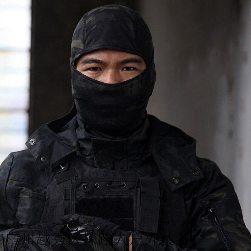 Military CP Balaclava Full Face Mask Cycling Neck Head Warmer CS Wargame Hunting Ski Sports Scarf Tactical Men Camo Bandana