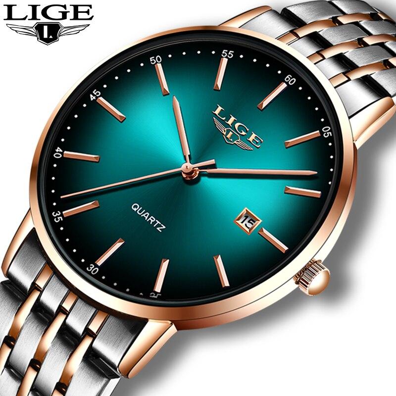 LIGE Fashion Women Watches Ladies Top Brand Luxury