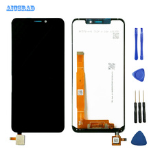 5 7 #8243 For Vodafone Smart N10 LCD Display 720x1498p Touch Screen Glass Panel Assembly Replacement Vodafone VFD-630 VFD 630 VFD630 cheap AICSRAD Capacitive Screen 1520X720 3 LCD Touch Screen Digitizer black white 5 inches 100 TESTED lcd+ touch