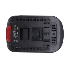 MT20BSL Li Ion Battery Converter Adapter for Makita 18V BL1830 BL1860 BL1850 BL1840 BL1820 Used To for Bosch 18V Tool