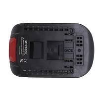 Tüketici Elektroniği'ten Şarj Cihazları'de MT20BSL li ion pil dönüştürücü adaptör Makita 18V BL1830 BL1860 BL1850 BL1840 BL1820 kullanılan Bosch 18V aracı